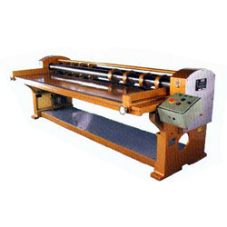 Four Bar Rotary Cutting Creasing Machine