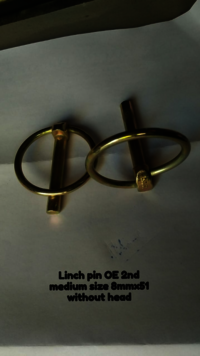 Medium Size Linch Pins