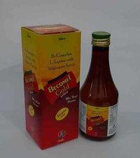 (B-COMPLEX SYP)Vitamin B1 1500mcg+B2 1500Mcg+B6 1500Mcg+B12 5Mcg+Niacinamide 15mg+Sylimarine 35mg+L-Lysine 25mg