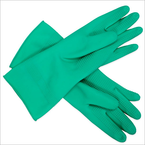 Green Rubber Glove