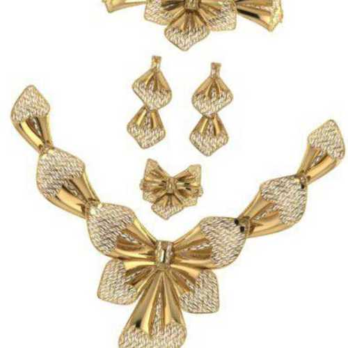 Gold casting jewellery