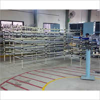 ABS Pipe Metal Joints Gravity Roller Conveyor