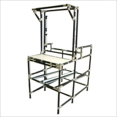 ABS Pipe Metal Joints ESD Workstation
