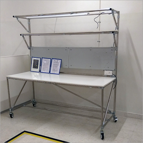 ABS Pipe & Metal Joints ESD Inspection Table