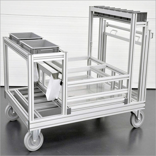 Aluminium Profile Trolleys