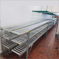 Aluminium Profile Gravity Roller Conveyor
