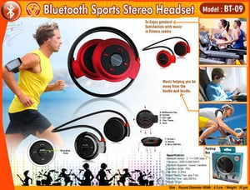 Bluetooth Sports Stereo Headset