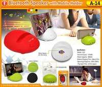 Bluetooth Speaker With Mobile Holder