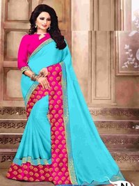 Cotton Silk Saree(DNHV983)