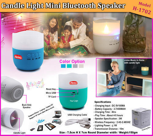 CANDLE LIGHT MINI BLUETOOTH SPEAKER