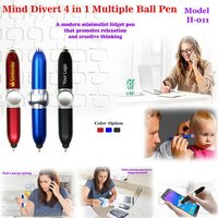 MIND DIVERT 4 IN 1 BALL PEN