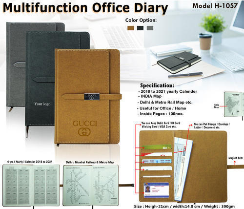 MULTIFUNCTION OFFICE DIARY