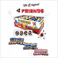 4 - Friends Choco Bean Candies