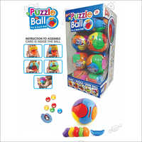 Puzzle Ball Choco Bean Candies