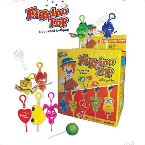Figrino Pop Flavoured candy Lollipop