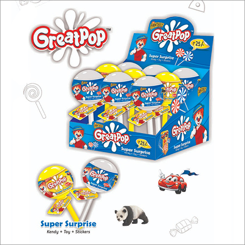 Great Pop Candy Lollipop