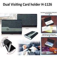 Dual Visiting Cardholder