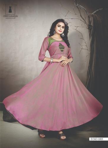 ed2ef09fbd Long Gowns In Surat, Long Gowns Dealers & Traders In Surat, Gujarat