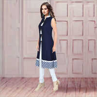 Ladies Coloured Long Kurti