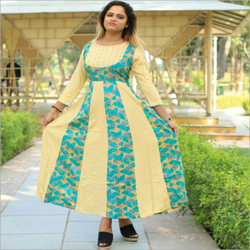 Ladies Casual Long Kurti