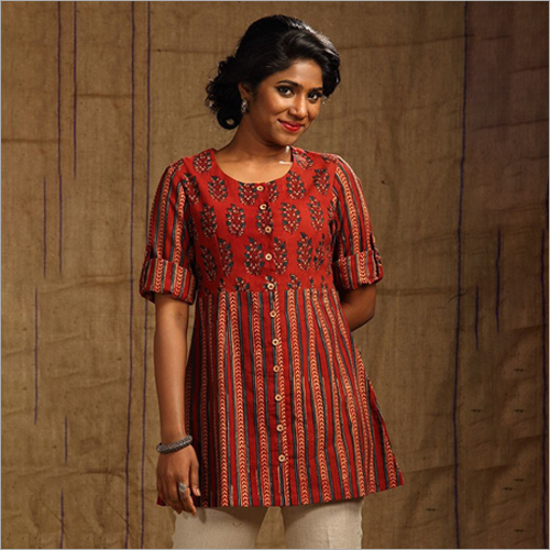 Ladies Casual Short Kurti