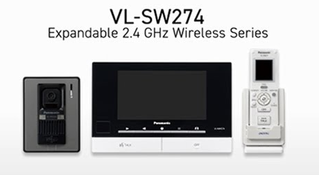 Panasonic Video Door Phone -VL-SW274SX