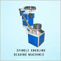 Spindle Knurling Beading Machine