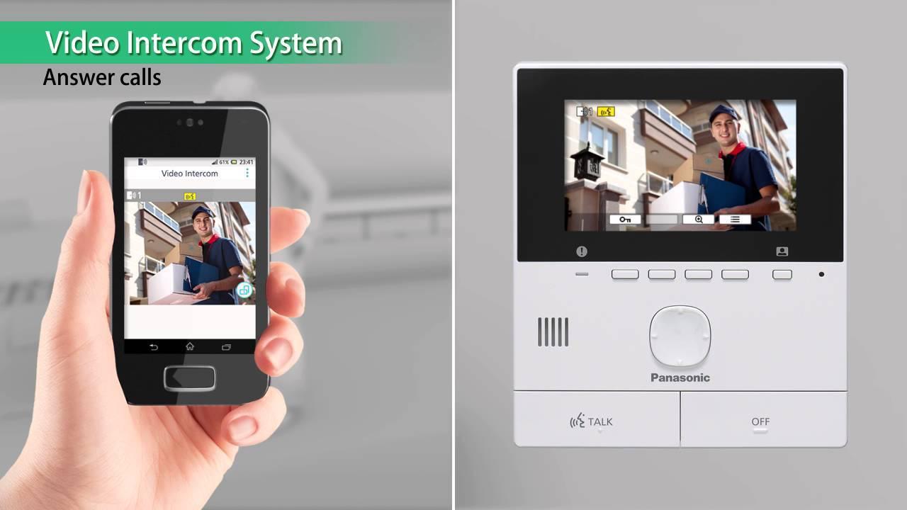 Panasonic Video Door Phone Smartphone Connect VL-SVN511