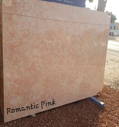 Romantic Pink Marble Slab