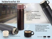Push Button Vacuum Flask