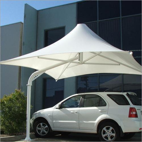 PVC Tensile Umbrella Structure