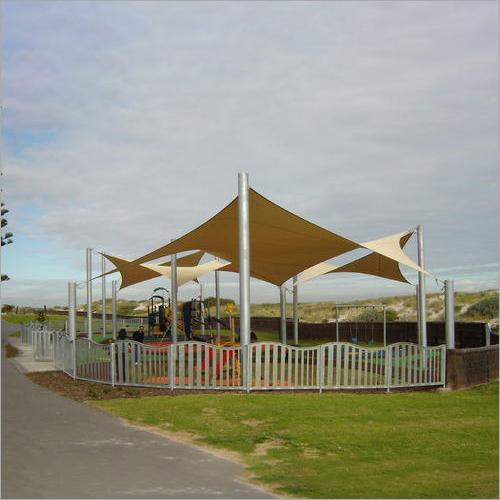 PVC Tensile Gazebo Structure