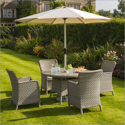 Fabric Outdoor Garden Chair Table
