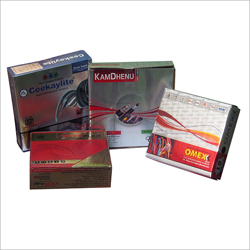 Silver Foil Paper Cable Boxes