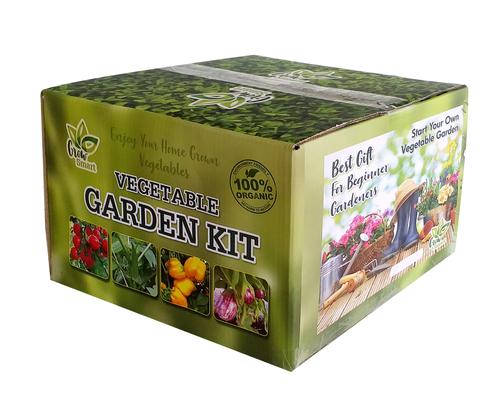 Vegetable Garden Kit Green Starter Kir