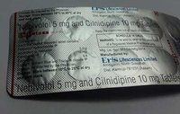 Nebivolol 5 mg cilnidipine 10 mg tablet