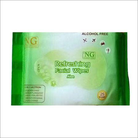 Aloe Vera Refreshing Facial Wipe