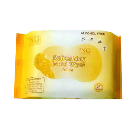 Lemon Refreshing Facial Wipe
