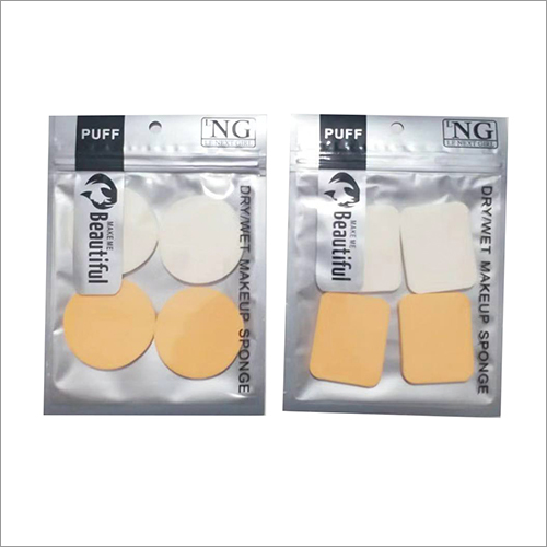 4 Pieces Dry Wet Makeup Sponge