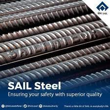 SAIL Steel TMT Bar