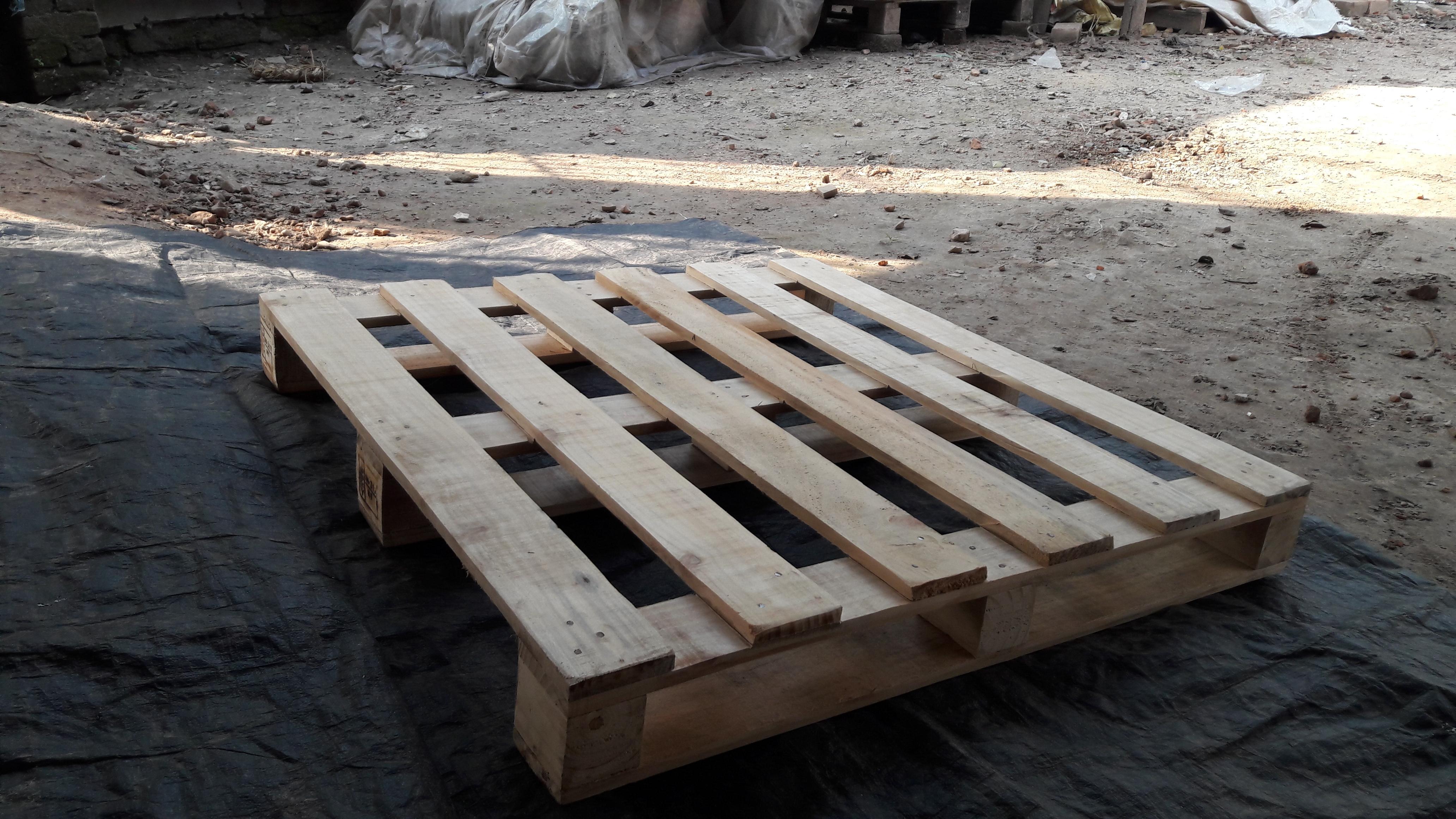 Heat Treated HT Wooden Pallets Manufacturer, Heat Treated ...