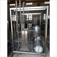 Milk Pasturizer Plant Skid Manual