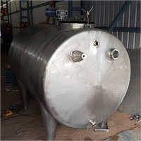Milk Steel Storage Tank
