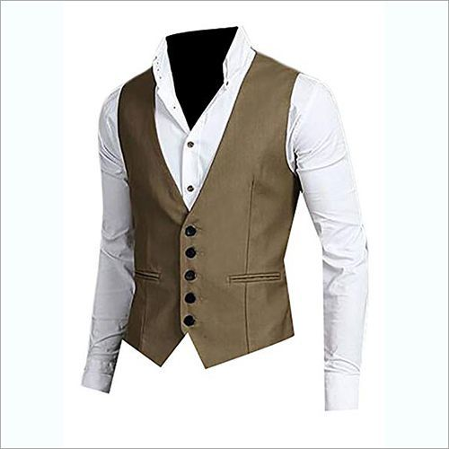 Men's Tweed Waistcoat