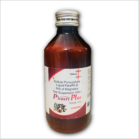 Sodium PicoSulphate, Liquid Parafin & Milk Of Magnesia Veterinary Liquid 180 mL