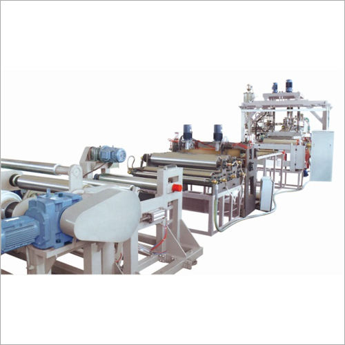 Plastic Film Sheet And Profile Extrusion Line