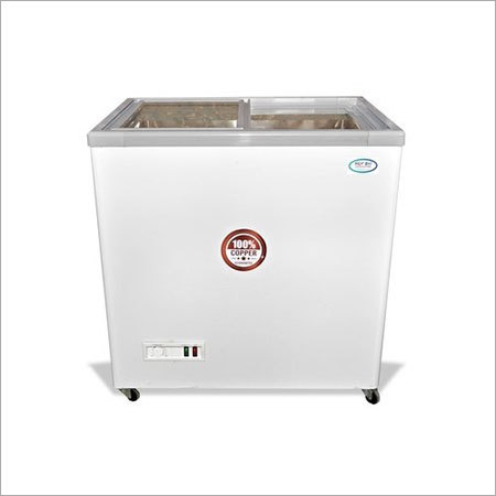 Refon Glass Top Deep Freezer Raf-250g