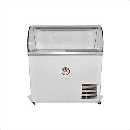 Refon Glass Top Deep Freezer Ref-350g