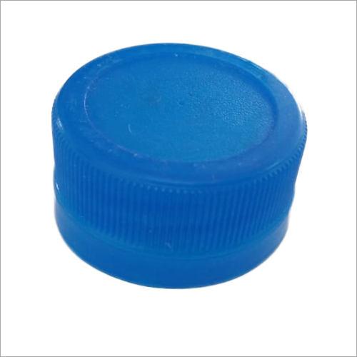 Water Bottle Plastic Blue Cap