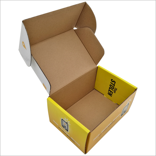 Color Paper Corrugated Packaging Box